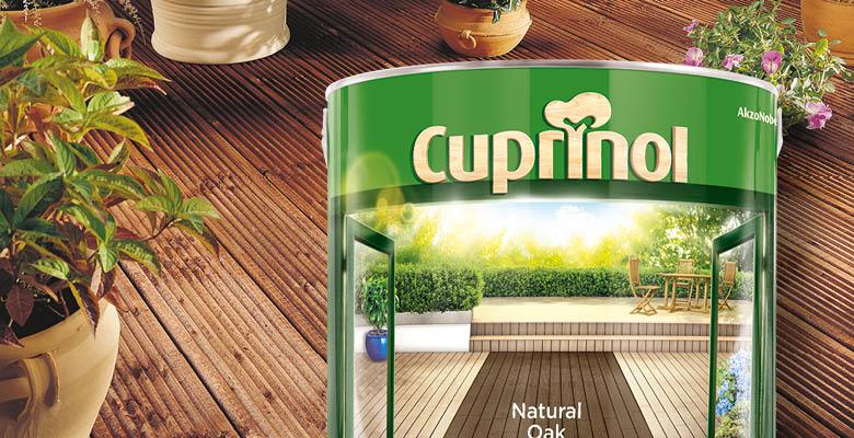 Cirka have worked with Cuprinol Decking