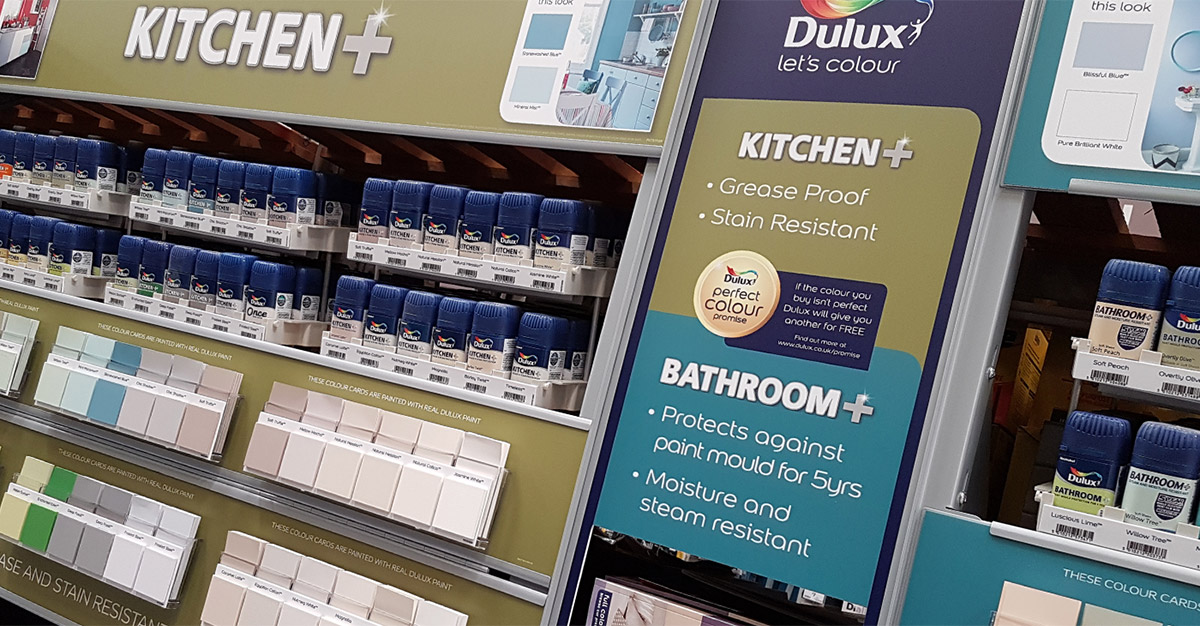 Dulux Value Added Kitchen and Bathroom Display
