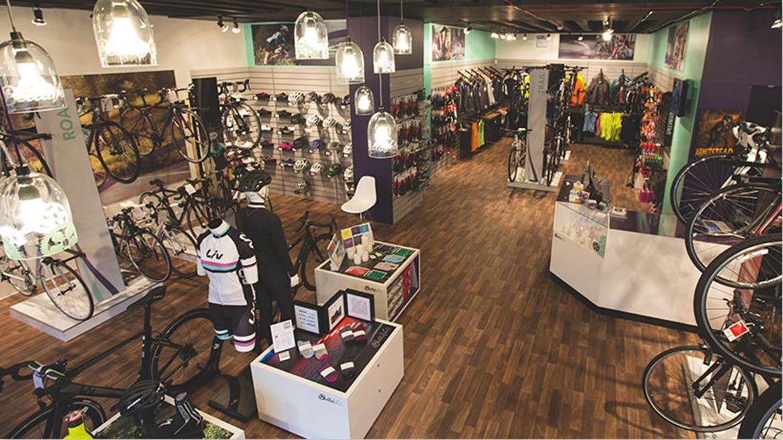 Bella Velo Complete Store Retail Display - Cirka