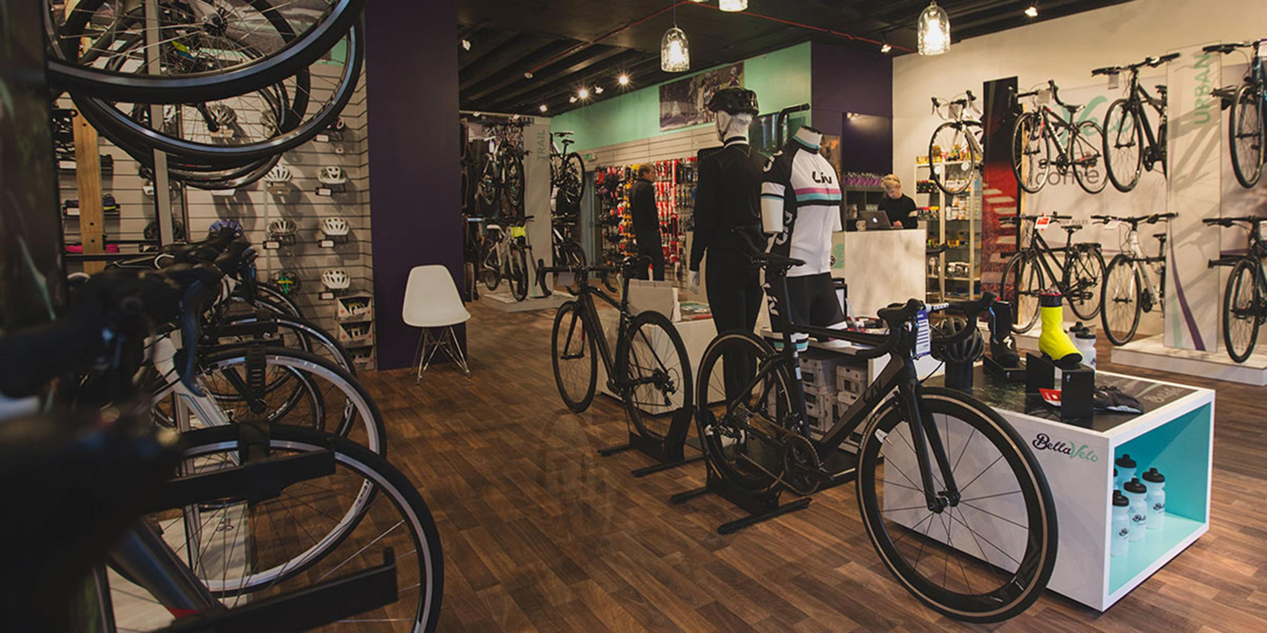 Bella Velo Instore Retail Display - Cirka