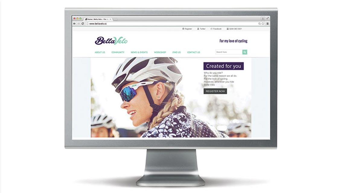 Bella Velo Website Design - Cirka