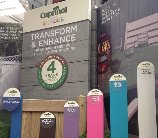 Cuprinol Transform & Enhance Retail Display | Cirka Creative