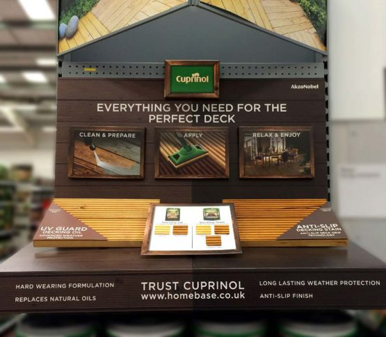 Homebase Decking Retail POS Cuprinol - Cirka Creative
