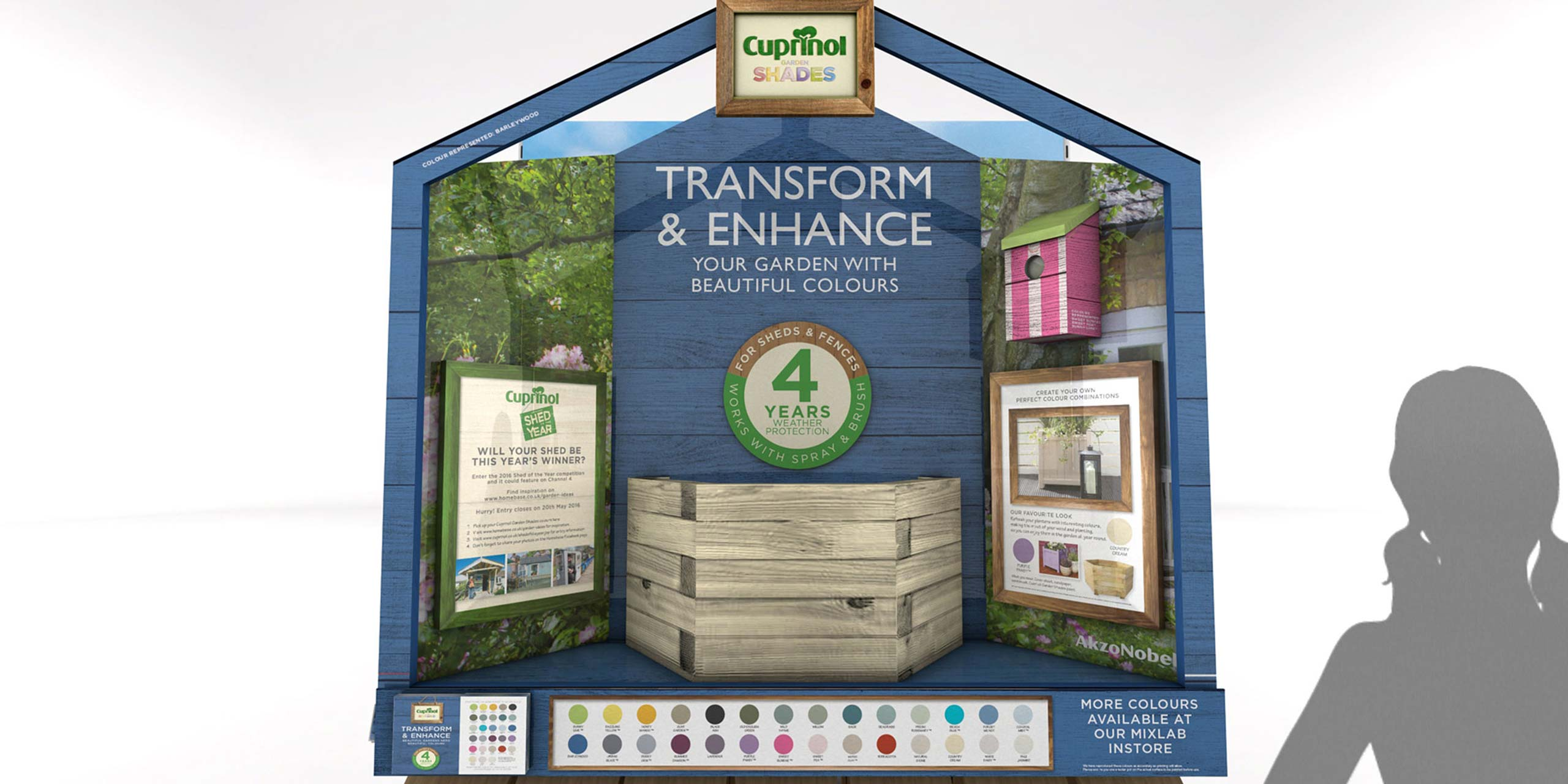 Cuprinol Transform & Enhance POS Retail Campaign | Cirka Creative