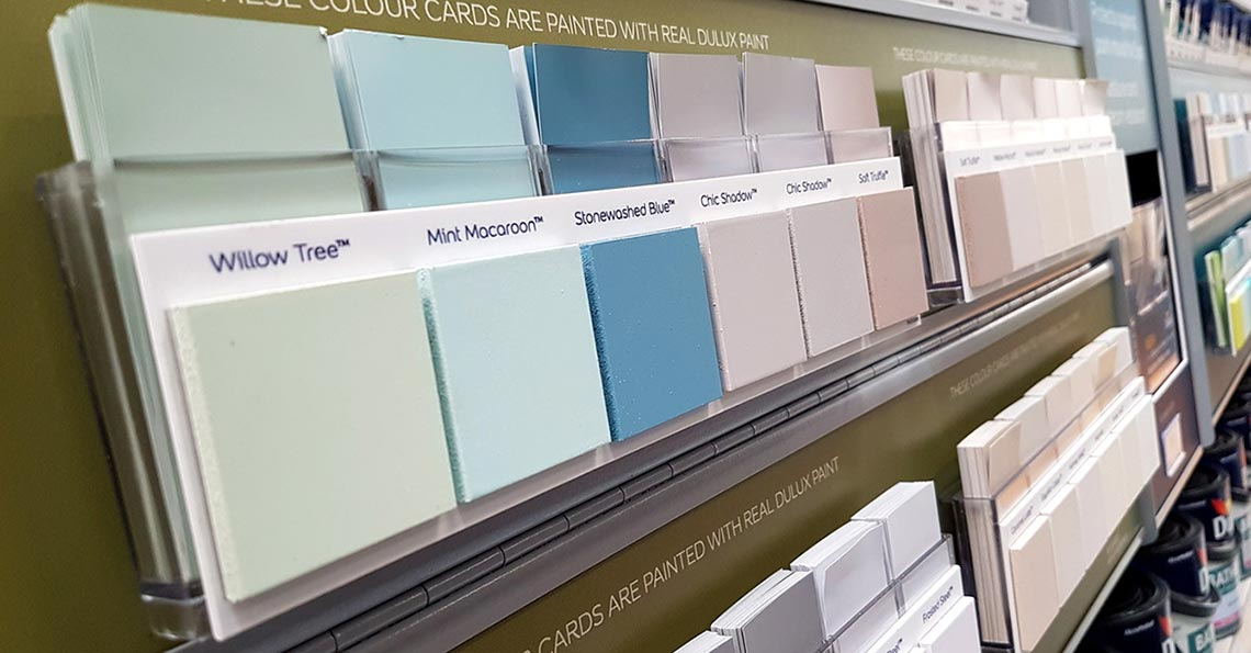 Dulux Colour Swatches POS Retail Display - Cirka