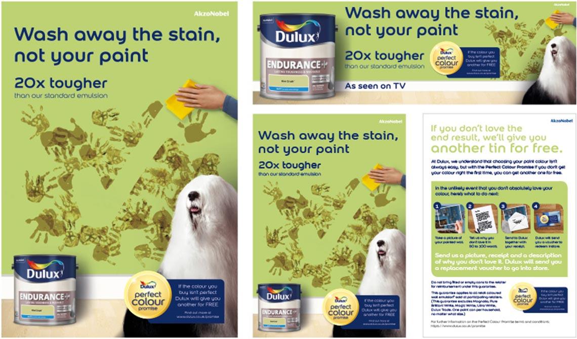 Dulux Endurance Campaign Mailer - Cirka Creative