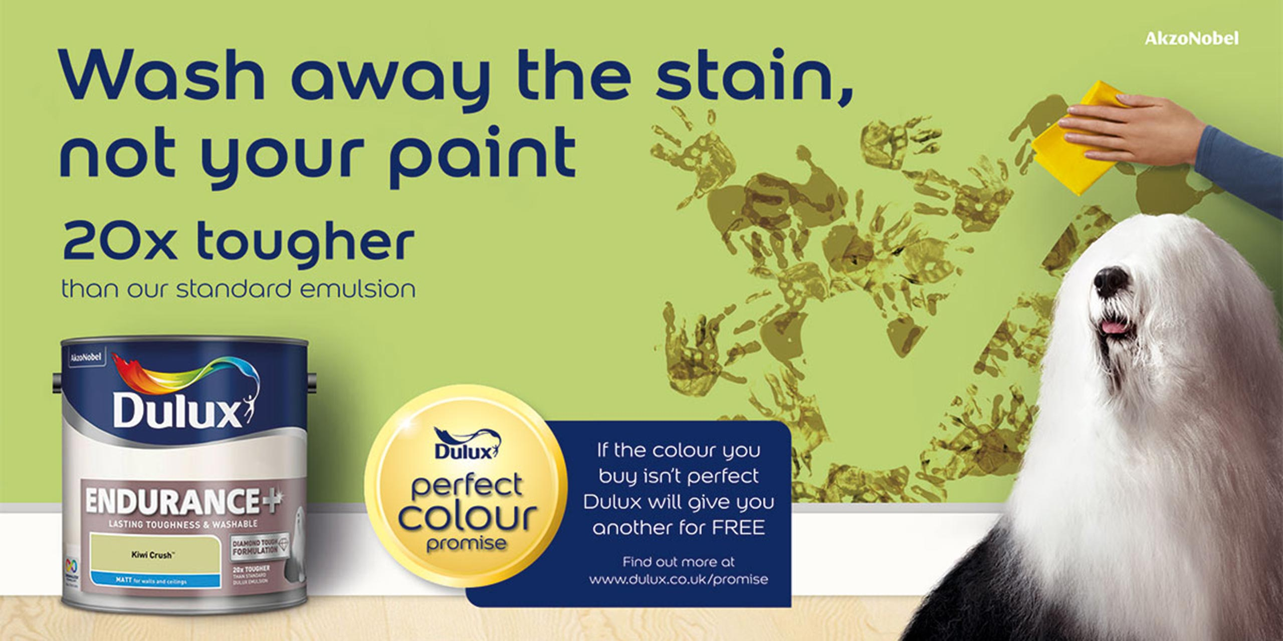 Dulux Endurance Campaign POS Retail Design - Cirka Creative