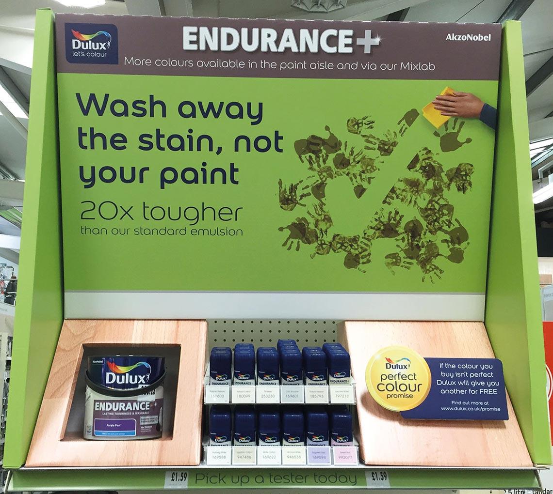 Dulux Endurance Homebase Retail - Cirka Creative