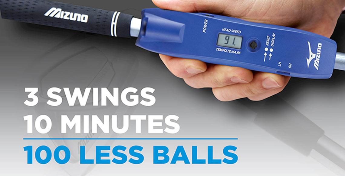 Mizuno Less Balls POS Retail - Cirka Creative