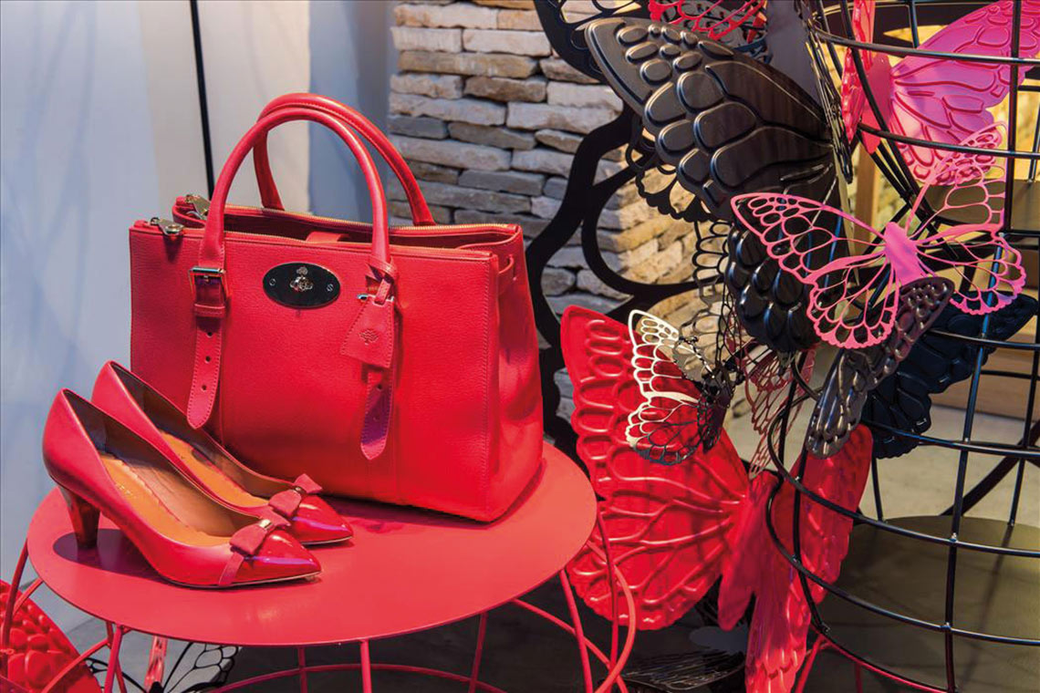 Mulberry Handbag POS Retail - Cirka Creative