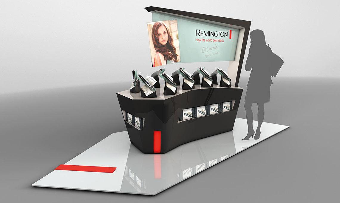 Remington POS Retail Unit Render