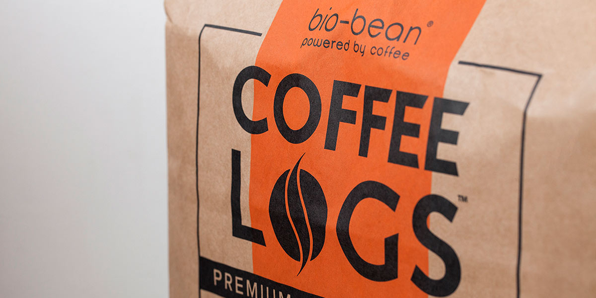 Bio-bean coffee logs