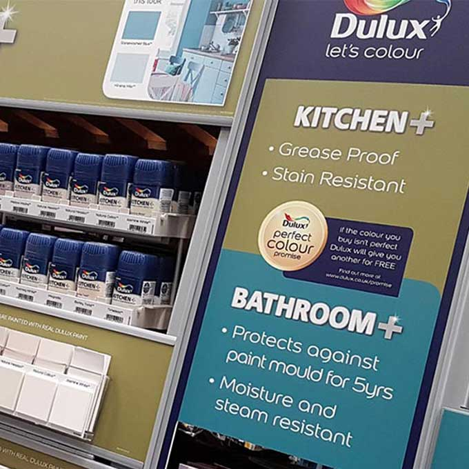 DULUX AND B&Q INTERIOR PAINT REFRESH